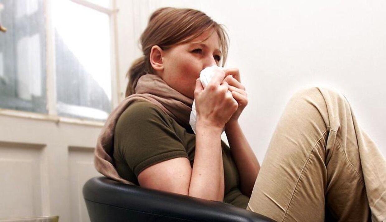 Antallet af influenza-tilfælde stiger.