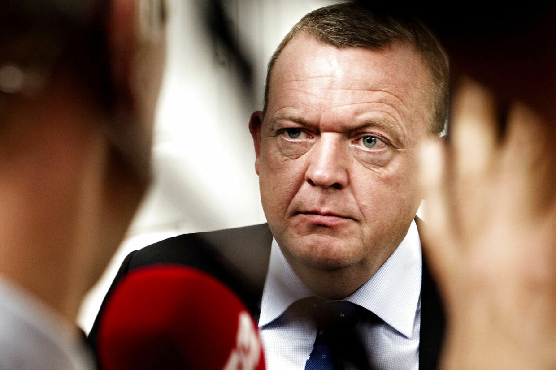 Venstre formand Lars Løkke Rasmussen har ofte svært ved at styre sit hidsige temperament