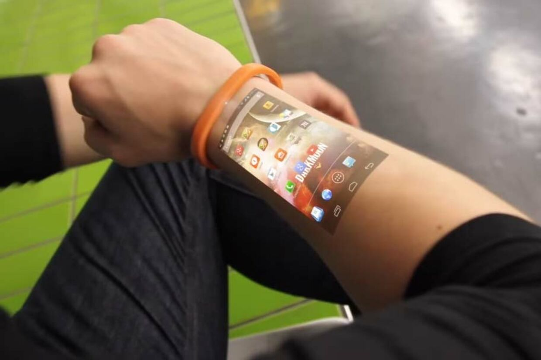 Armband Handy Projektor
