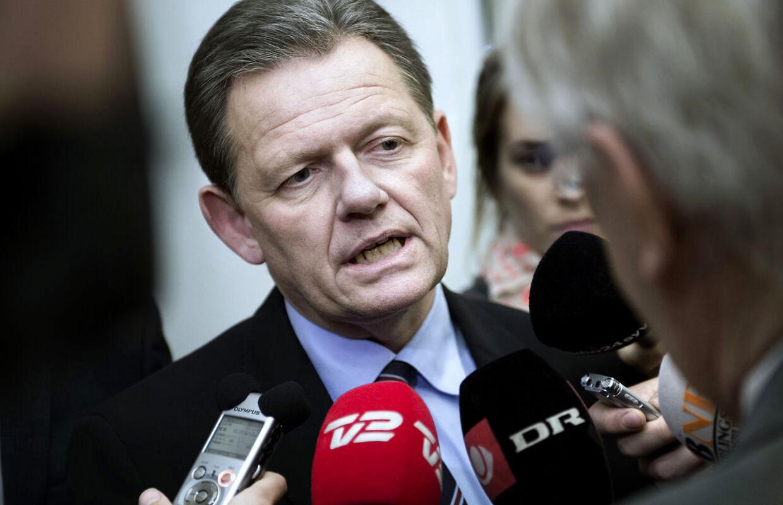 Lars Barfoed glæder sig over den seneste meningsmåling, der viser fremgang til Det Konservative Folkeparti.