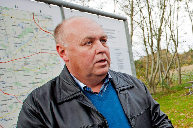 Kristian Pihl er ved at skrive en bog om jernbaner.