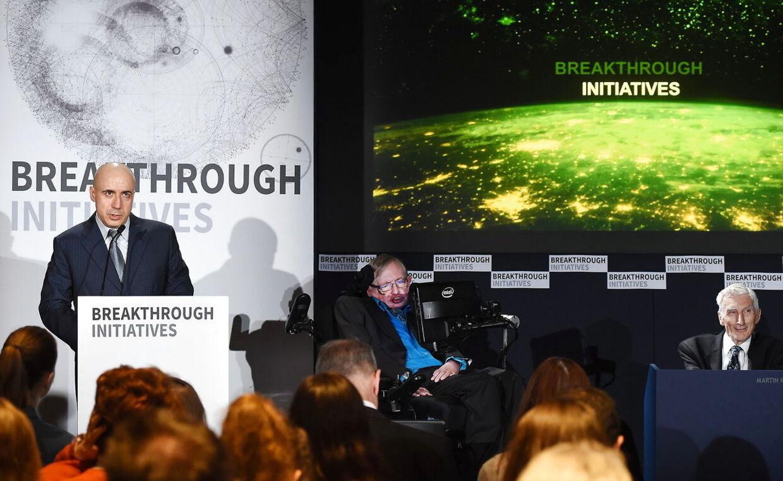 Det er tale om det største beløb, der nogensinde er givet til eftersøgningen efter intelligent liv, SETI (Search for Extraterrestrial Intelligence).