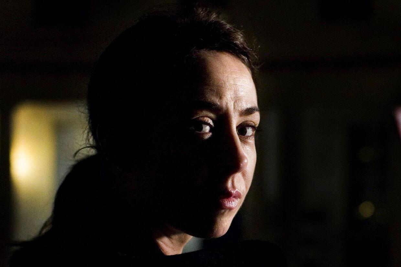 """""""Forbrydelsen"""" med Sofie Gråbøl i hovedrollen er blevet et hit på britiske BBC."""