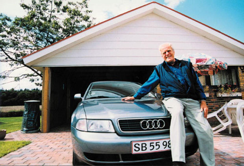 Heirich Dohrman fik tre flasker rødvin gratis, fordi han betalte sin nye Audi A4 kontant, da han købte den i 1999.