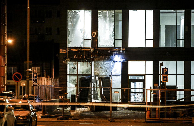 En bombe rystede natten til mandag det centrale Malmö.