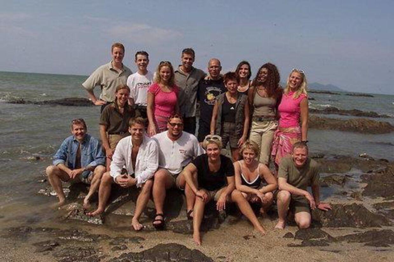 De 16 deltagere i årets Robinson Ekspedition  er klar til at kaste sig ud i nye intriger og fysiske strabadser. Foto: Bent K. Rasmussen