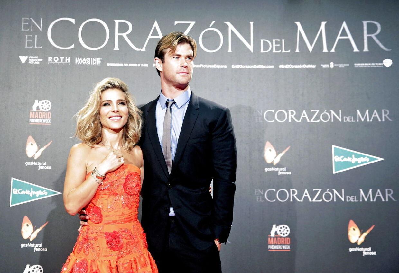 Chris Hemsworth og hans kone, Elsa Pataki