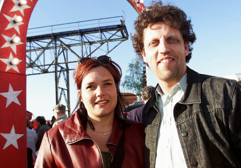 Skuespiller Søren Hauch-Fausbøll (her med hustruen Nadja) kalder Simon Rosenbaum 'et fantastisk menneske'.