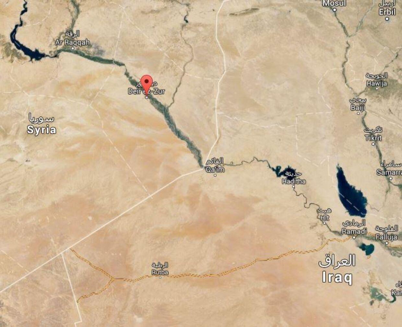IS har angrebet byen Deir al-Zor og taget mindst 400 civile som gidsler