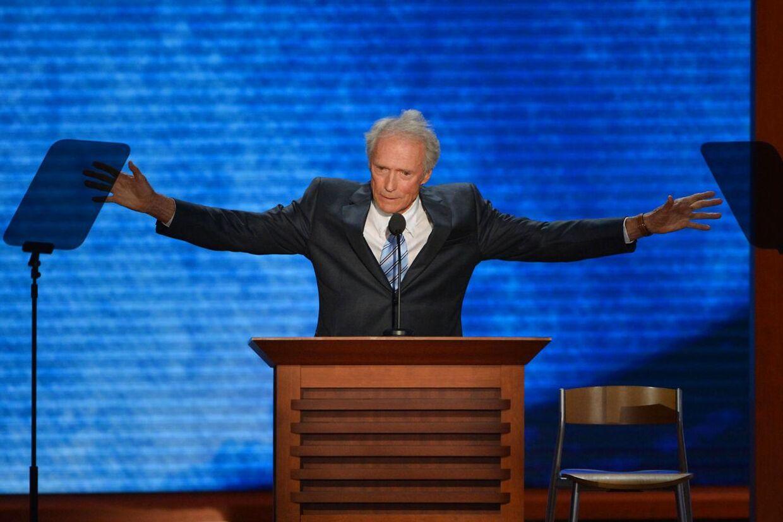 Clint Eastwoods lidt underlige Obama-stunt torsdag aften d. 30 august er nu blevet et internetfænomen