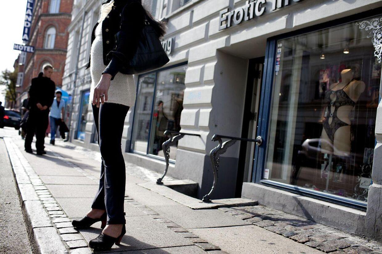 Prostitueret i København. Arkivfoto