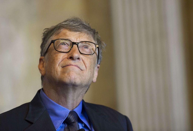 Bill Gates er blandt de 62 rigeste, der ifølge en ny rapport ejer det samme som halvdelen af alle i verden.