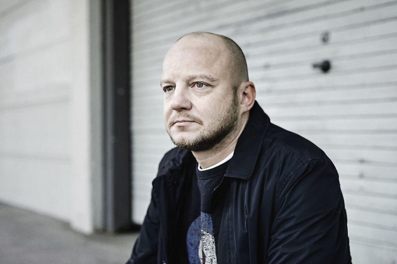 Søren Schou / Pharfar udgiver for første gang et soloalbum. Det kommer først i form af 2 EP'er, og derefter samlet. Fotograferet på Vesterbro tirsdag den 9. februar 2016.