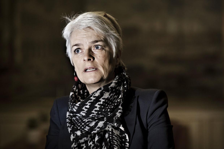 Annette Vilhelmsen, formand for SF og erhvervs- og vækstminister.