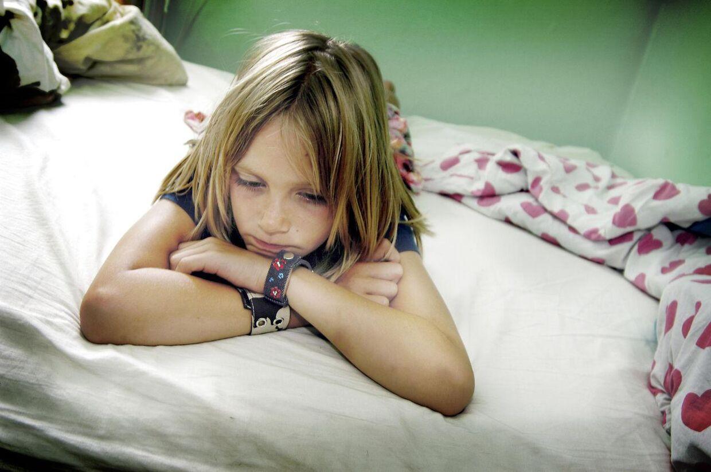 Ny forskning påviser, at ulykkelige børn har større risiko end andre for at blive hjertesyge som voksne.