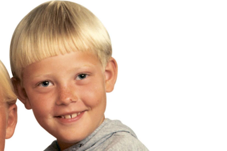 Kasper Vetter, da han var dreng - nu er der ikke mange, der ved, hvordan han ser ud.