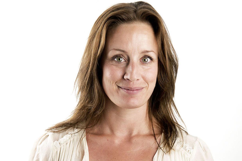 Katrine Hertz Mortensen 35 år, journalist og vært på 'Go' Morgen Danmark'. P.t. på barsel.