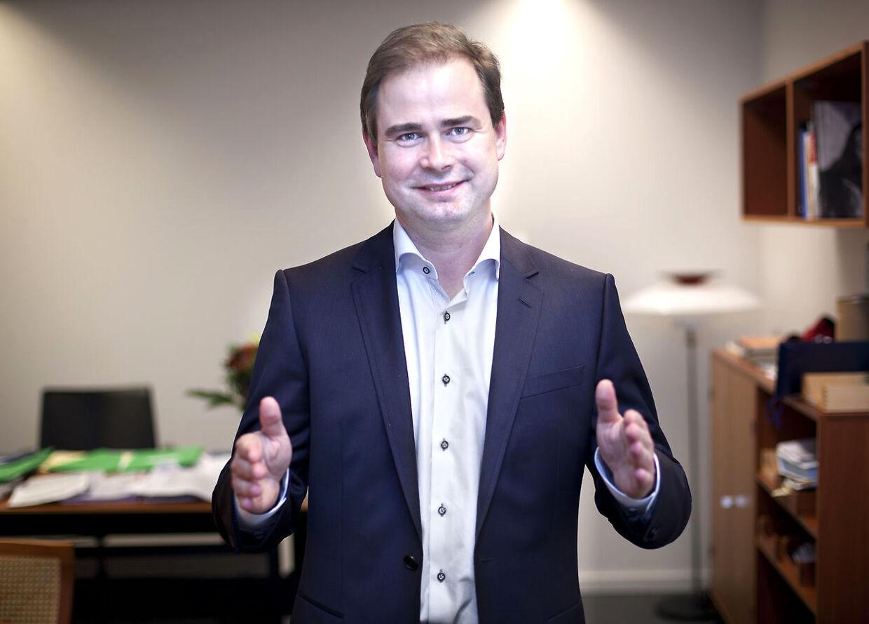 Nicolai Wammen (Europa minister fra socialdemokraterne)) Har netop fået en søn.