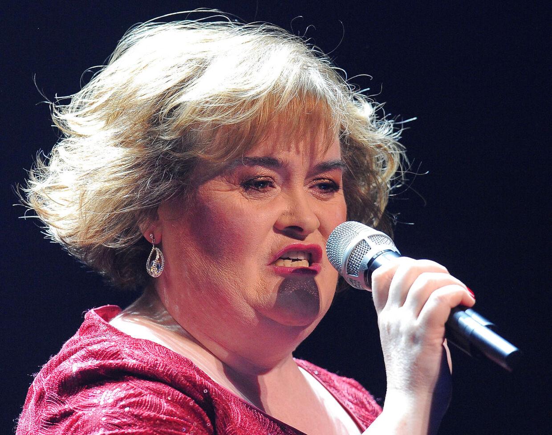Susan Boyle blev på ingen tid verdensberømt på grund af sin smukke stemme, med berømmelsen og de mange penge har ikke gjort hende lykkelig. Tværtimod har det skabte splid og sorg i hendes familie. (Arkivfoto)