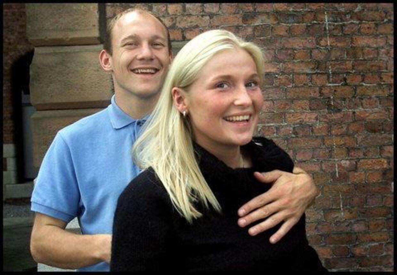 Hr. og fru Everton alias Thomas Gravesen og Gitte Pedersen. Foto: Nils Meilvang.<p>