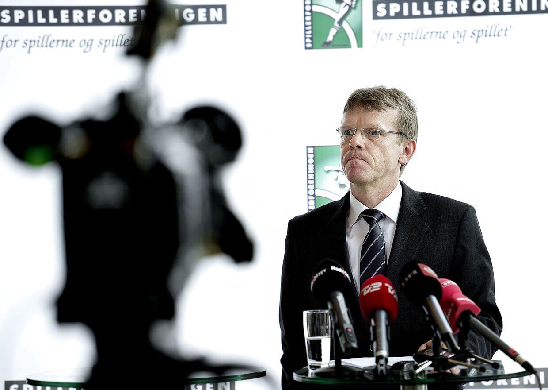Spillerforeningens direktør og hovedforhandler med Brøndby IF, Mads Øland.