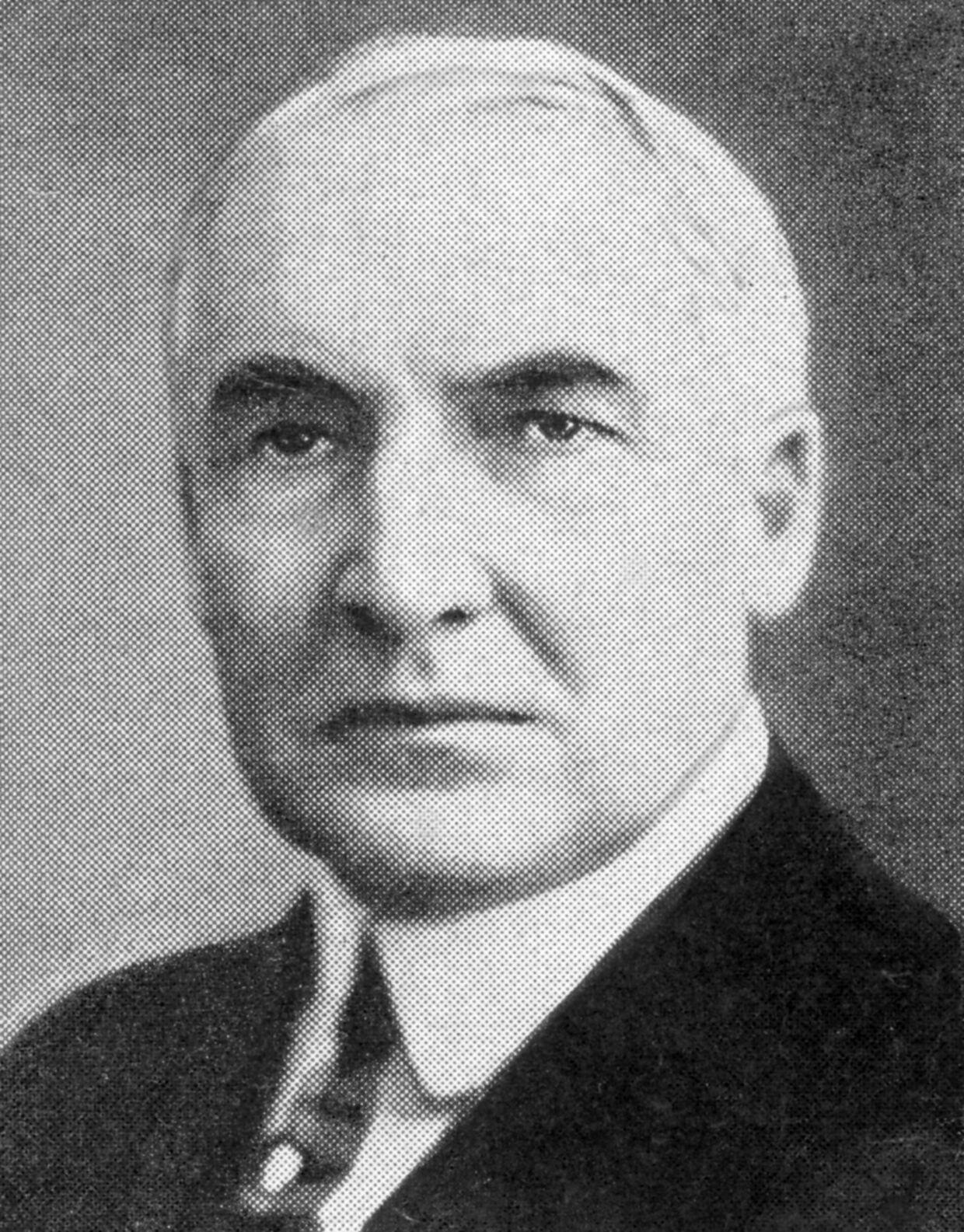 Warren Harding (1865-1923), amerikansk præsident fra 1921-1923. (Udateret arkivfoto).