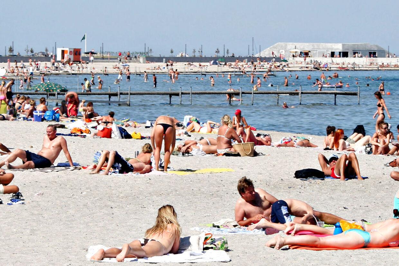 Hvis prognoserne får ret, kan vi få årets første sommerdag i næste uge med temperaturer på op mod 25 grader.
