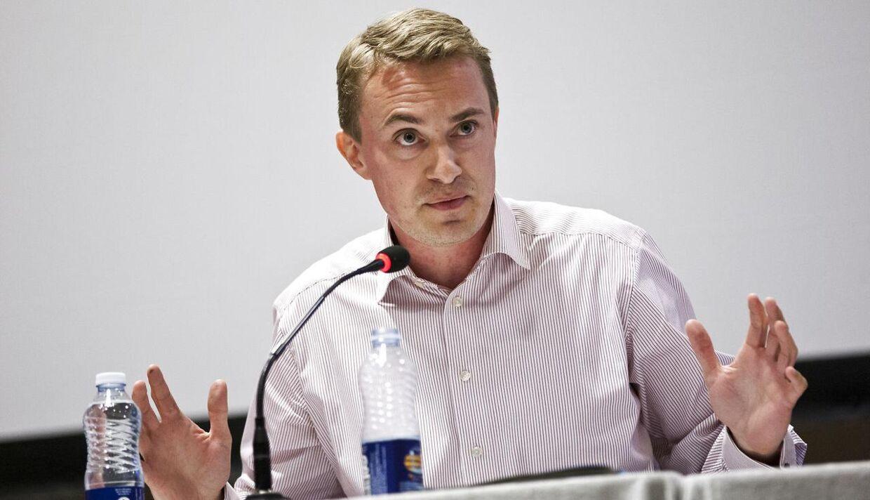 Morten Messerschmidts (DF) skrækscenarium er, at Thorning kommer til at agere som tidligere statsminister Anders Fogh Rasmussen, inden Venstre-politikeren i 2009 fik job som generalsekretær i NATO.