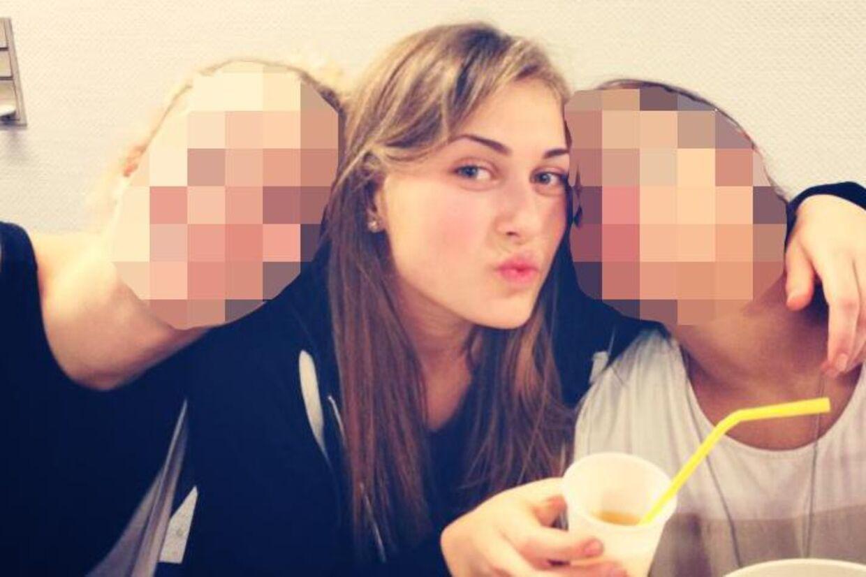 Vennerne er i sorg over 16-årige Rebeccas død torsdag.