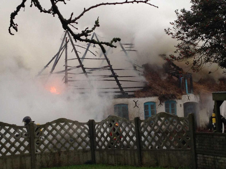 Brand i ejendom i Tønder