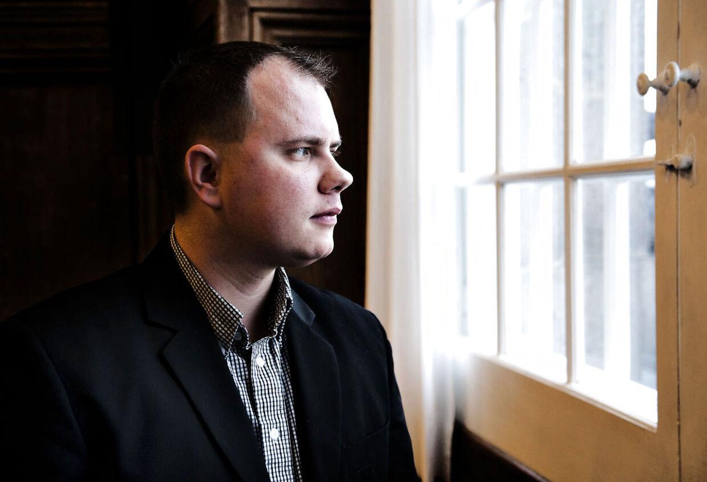 Portræt af Martin Henriksen MF fra DF. Fyns stifttidende og Nordjysk.