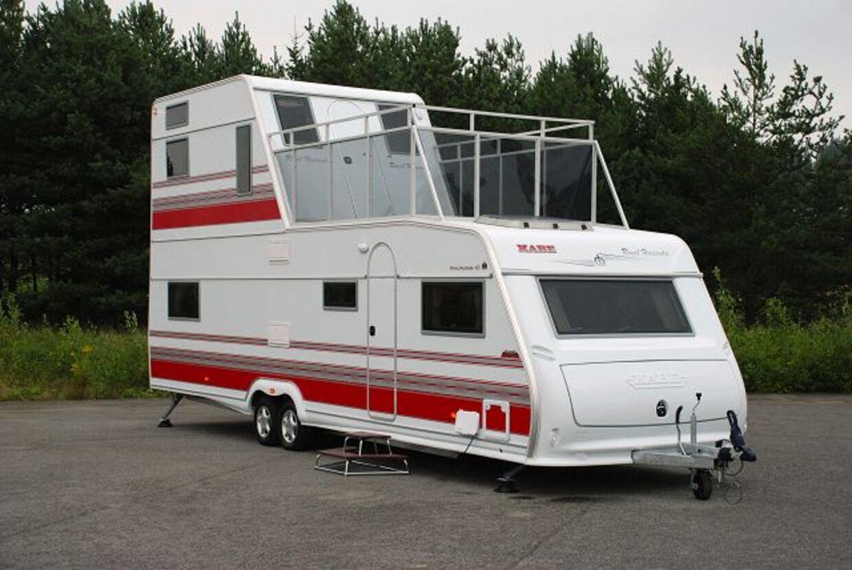 Campingvogn Med Havudsigt Bt Bil Og Camping Www Bt Dk