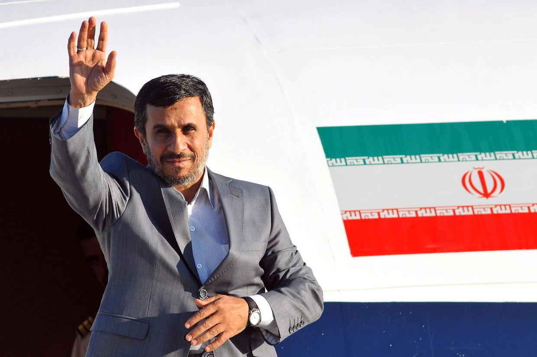 Den iranske præsident Mahmoud Ahmadinejad er ikke en populær mand blandt danskerne.