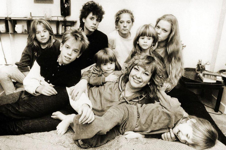 Sådan så billedet af den svenske storfamilie ud en gang.
