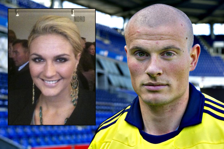 Lisa Lents (lille foto) bekræfter, at hun er gode venner med fodboldstjernen Mikkel Thygesen.