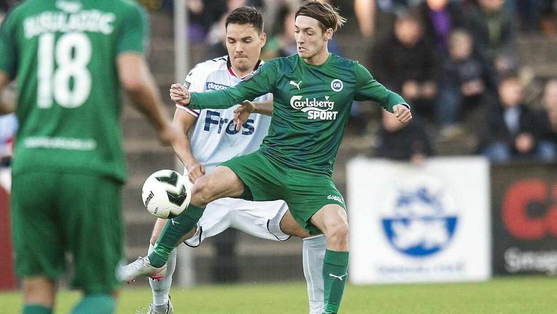 Rasmus Falk skifter til FCK til sommer.