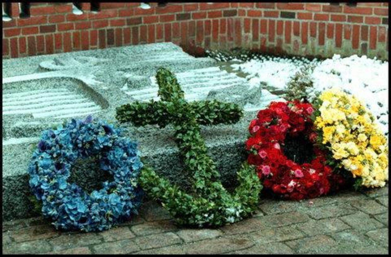 Her på Frederik den Niendes gravplads skal Dronning Ingrid stedes til hvile. Foto: Gitte Sofie Hansen