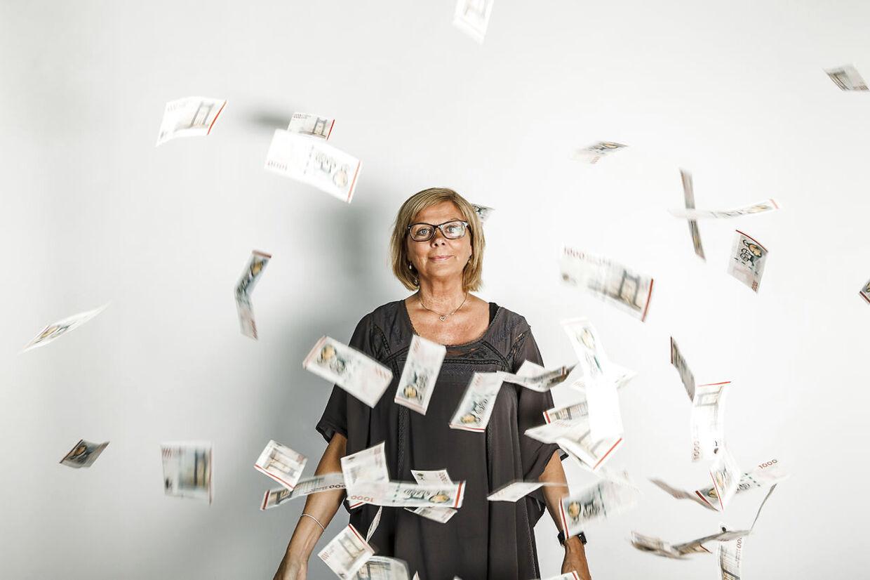 Kunderne i Industriens Pension får 2 mia. kr. tilbage i Skat - svarende til ca. 5.900 kr. per kunde. Modelfoto: Jeppe Bjørn Vejlø