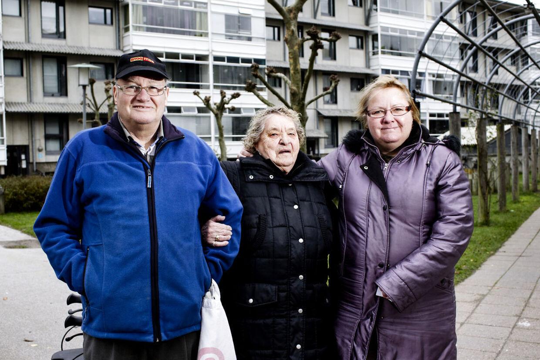 Familien Pedersen/Aalborg bliver kede af det, hvis ikke det traditionsrige juletræ kommer til at stå på sin vante plads i år