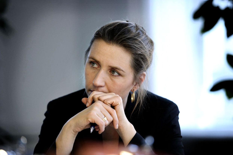Beskæftigelsesminister Mette Frederiksen.