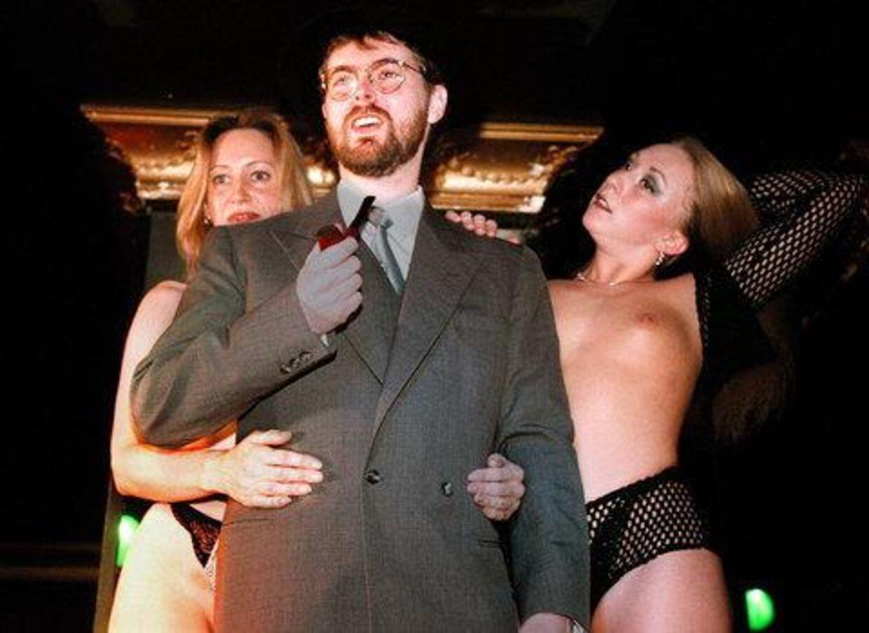 Studievært Nicolas Barbano lover hed sex på hjemme-computeren. Foto: Brian Rasmussen,