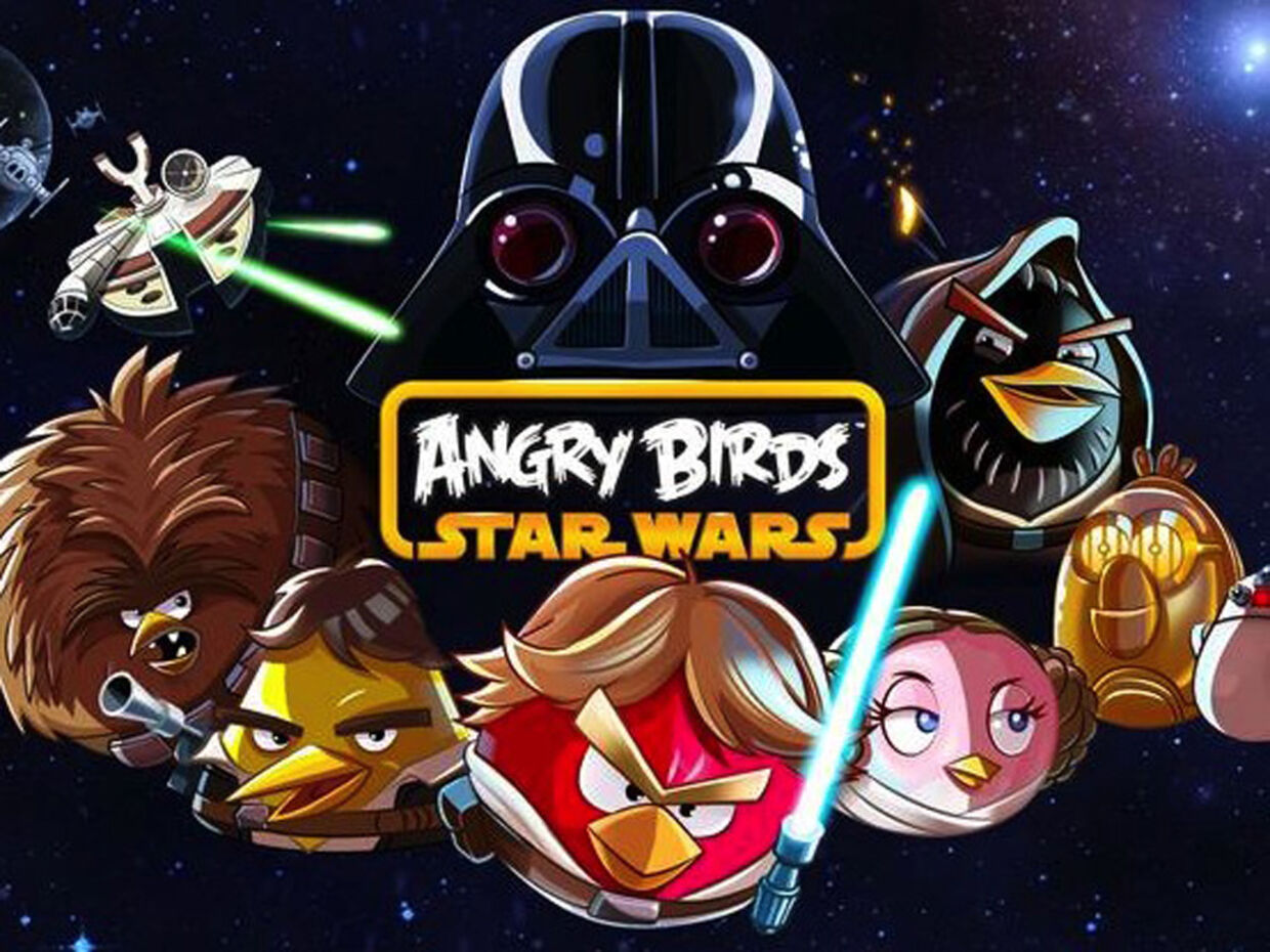 Star Wars Angry Birds kan nu downloades i App Store.