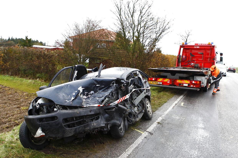 Voldsom ulykke ved Præstø.