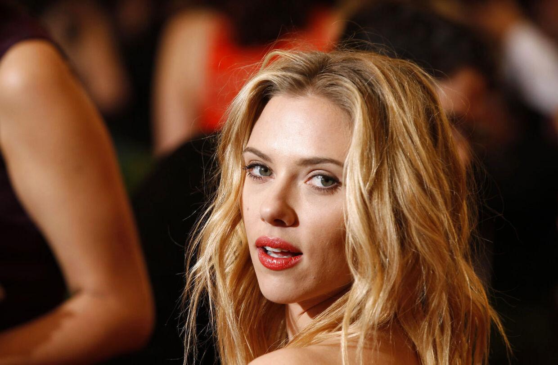 Scarlett Johansson, fotograferet tidligere i år. Klik dig videre og se Scarlet under bruseren.