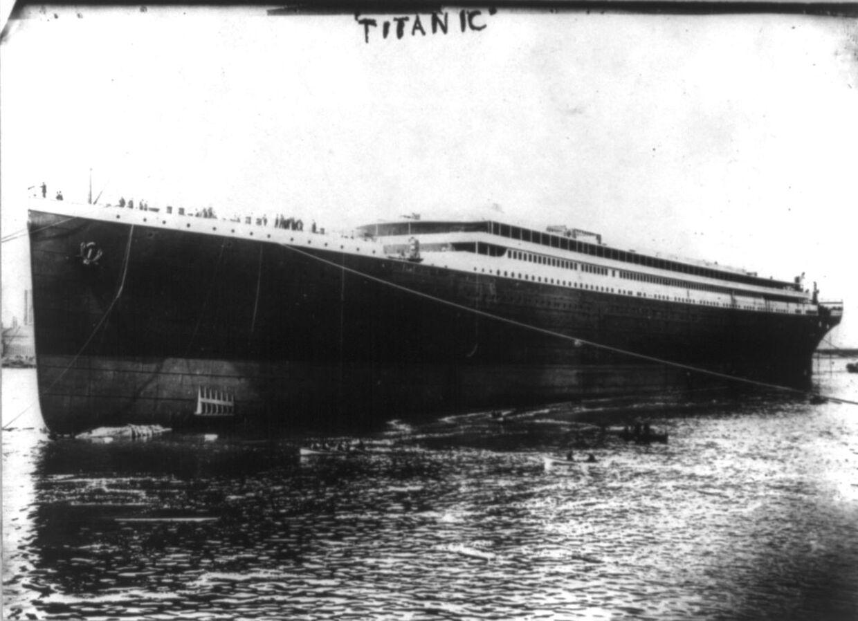 Den oprindelige Titanic.
