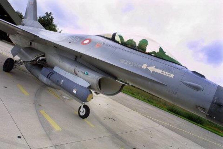 Danske F16-fly har to dage i træk kastet bomber i Afghanistan. Arkivfoto: Henning Bagger