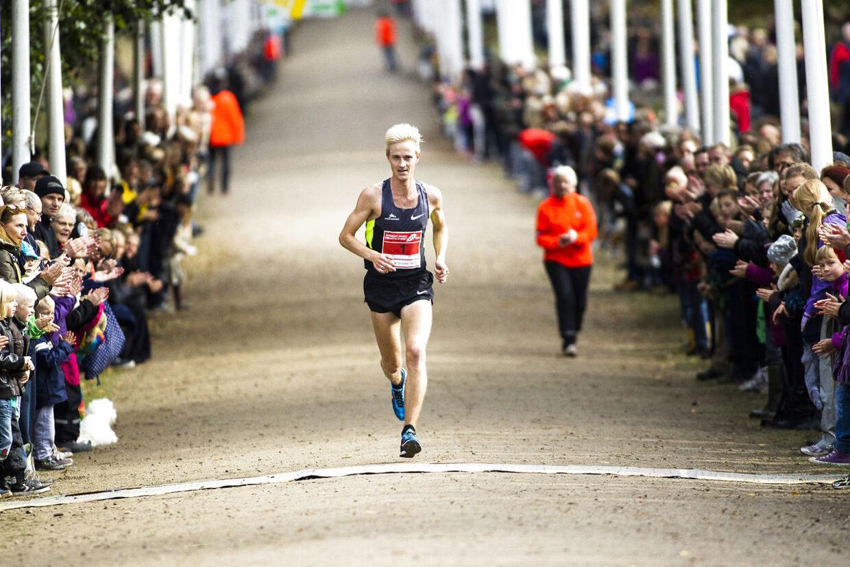 Eremitageløb 7. oktober 2012. Her vinderen Morten Munkholm