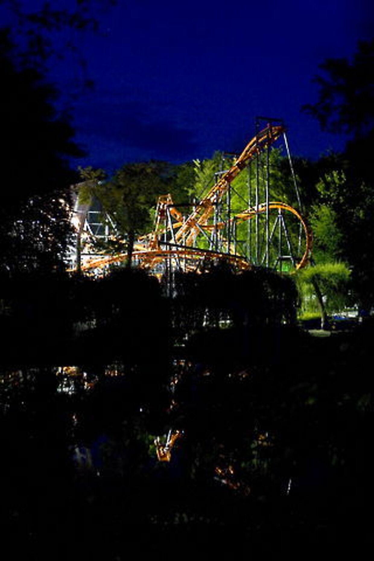 Ulykken skete i Cobraen fedag aften ved 23-tiden. Foto:Claus Haagensen.