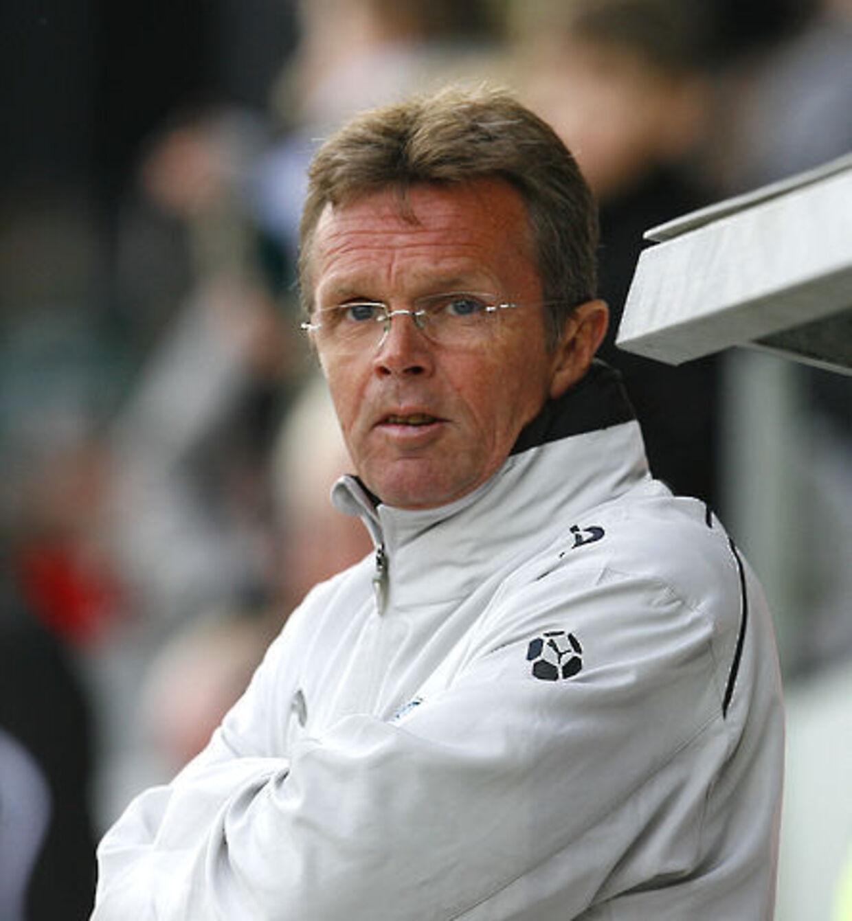 Anders Linderoth - svenskeren er færdig i Viborg.