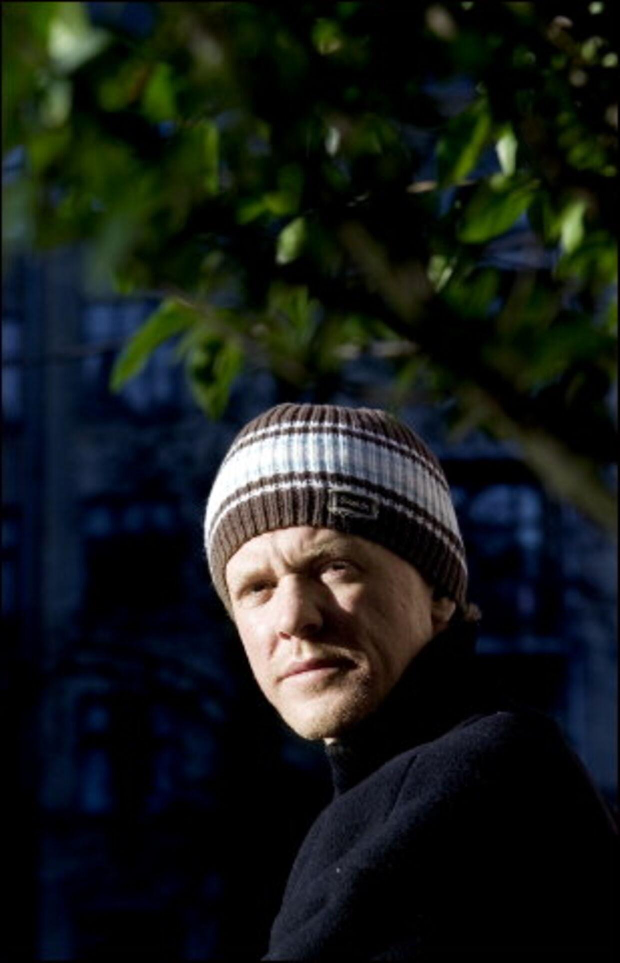 Efter hans største succesår, 2004, søger Anders Matthesen nu nye udfordringer og siger nej til de nemme løsninger. <br>Foto: Jeppe Carlsen